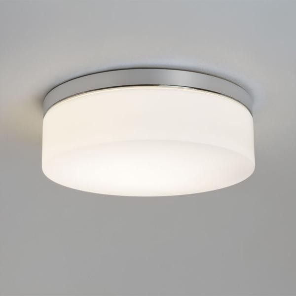 Bini 280 Flush Mount Ceiling Bathroom Light Round
