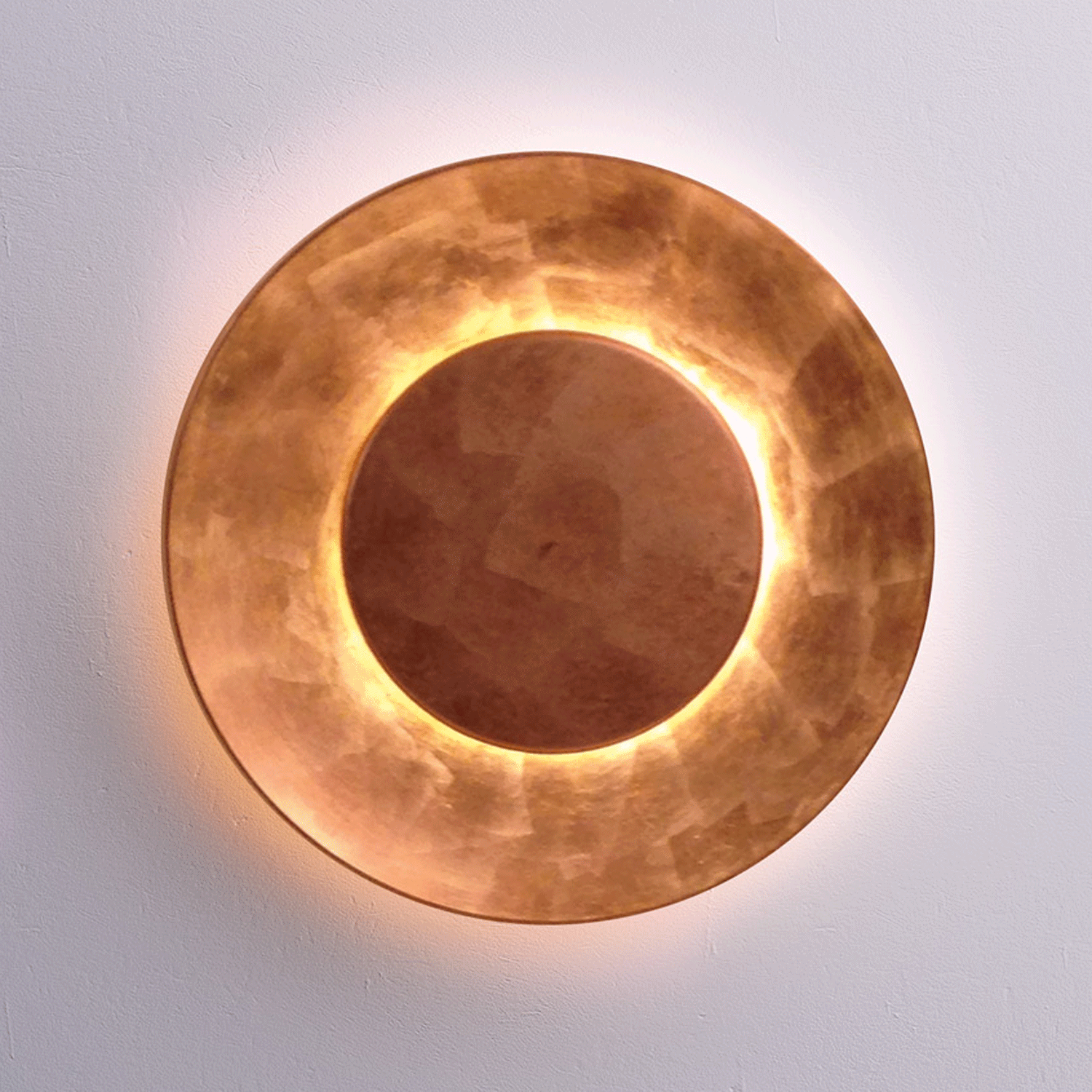 low priced bcf3a eace0 Lunaire Design Wall Lamp Copper